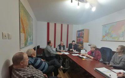 Vizite de lucru la filialele UUR din Iași, Botoșani, Suceava și Maramureș, 5-7 februarie, 2020
