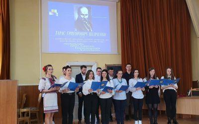 Sărbătorirea a 206 ani de la nașterea lui Taras H. Șevcenko la Cluj