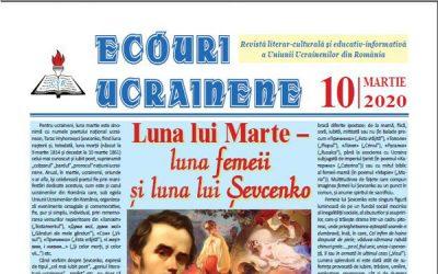 Ecouri ucrainene nr. 10, martie 2020
