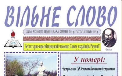 Vilne slovo nr. 5-6, martie 2020