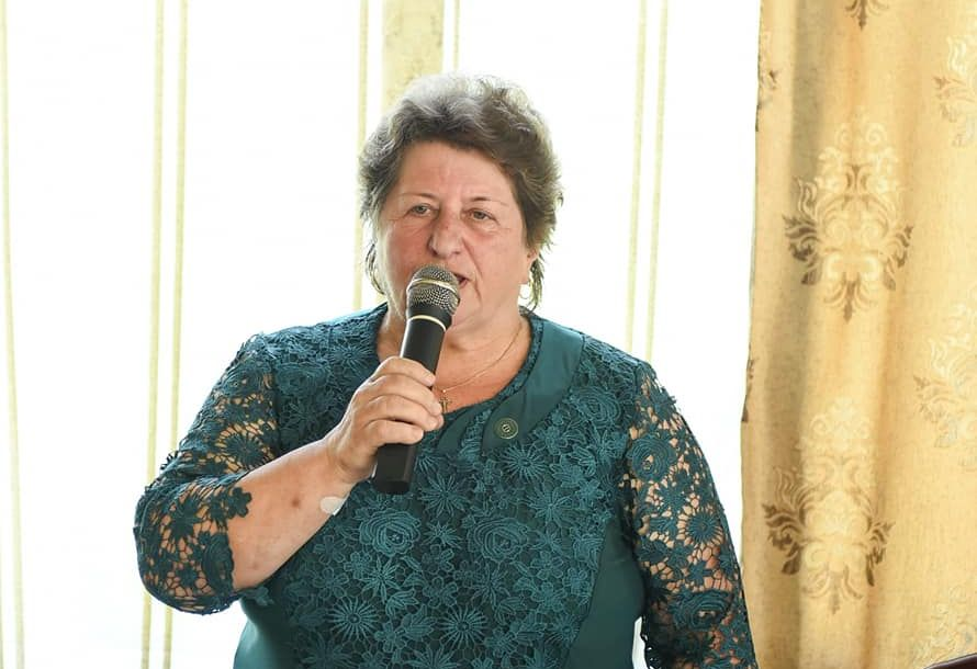 Președinta OFUR a prezentat organizația și ajutorul în timpul COVID-19
