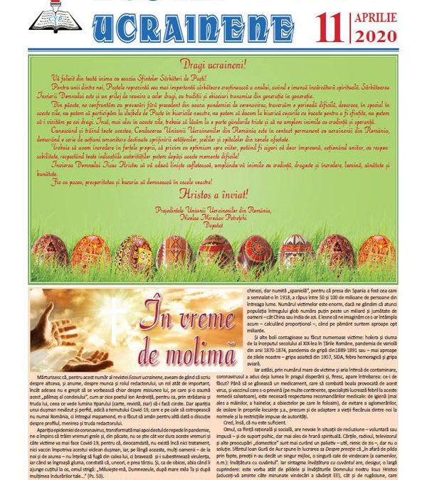 Ecouri ucrainene nr. 11, aprilie 2020
