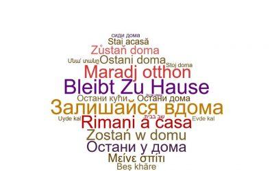 """DRI spune """"#staiacasă"""" în limbile minorităților naționale din România"""