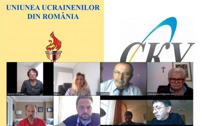 Videoconferință a membrilor CMU pe tema răspunsului la epidemia de coronavirus