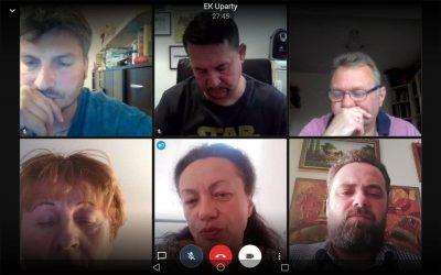 Ședinţă online a Congresului European al Ucrainenilor pe tema pandemiei