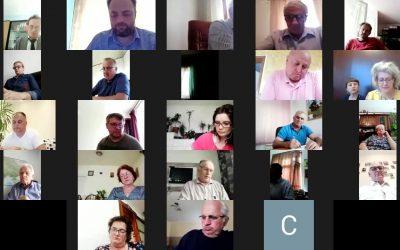 Ședință online a Consiliului (Rada) Uniunii Ucrainenilor din România