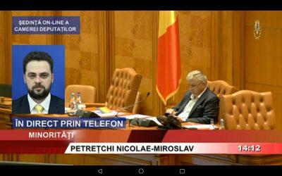 Deputatul N.M. Petrețchi despre onestitatea politică în împrejurările actuale