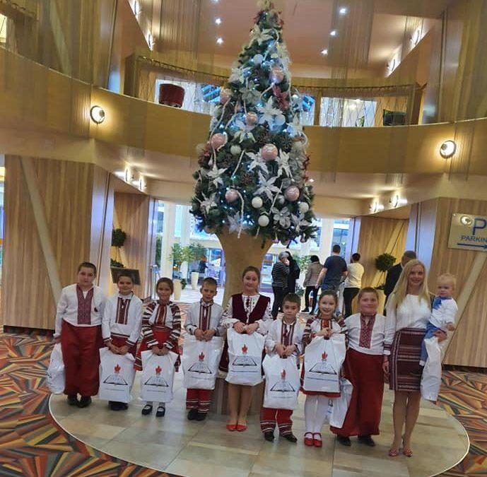 «Святий Миколай серед дітей» – 19 грудня 2019 року, Бухарест