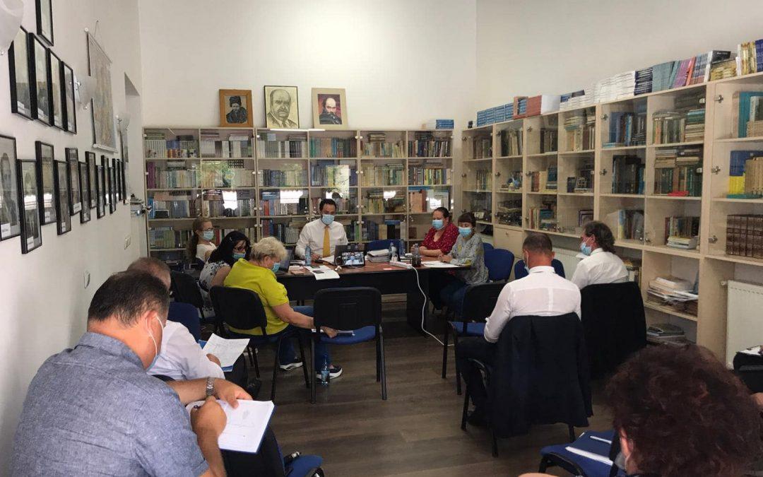 Чергове засідання членів Ради Союзу Українців Румунії