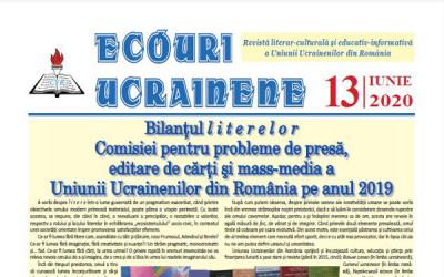 Ecouri ucrainene Nr. 13, iunie 2020