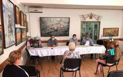 Vizite de lucru la filialele UUR Tulcea şi Galaţi – 12-13 iulie 2020