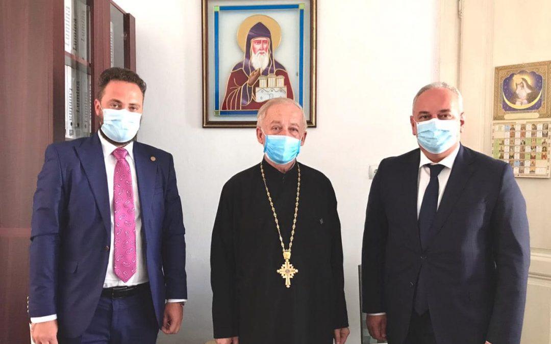 Discuții privind activitatea Vicariatului Ortodox Ucrainean din România