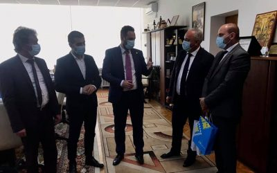 Vizită de lucru a președintelui UUR N.M. Petrețchi în judeţul Maramureș