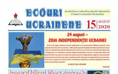 Ecouri ucrainene Nr. 15, august 2020