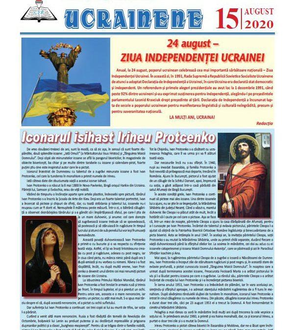 Ecouri ucrainene Nr. 15, august 2020