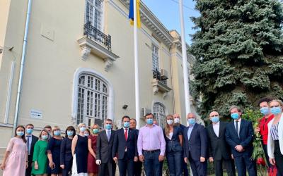 D.Kuleba a avut o întrevedere cu membrii comunităţii ucrainene din România