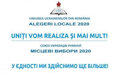 UUR a înregistrat un succes istoric la alegerile locale din 27.09.2020