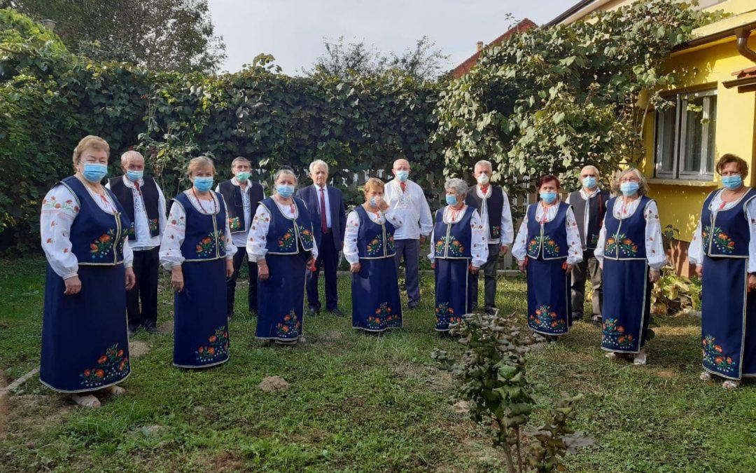 Концерт традиційних українських релігійних пісень у м. Карансебеш