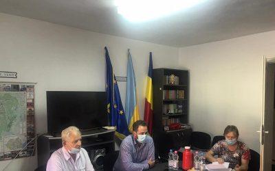 Preşedintele UUR a efectuat o vizită de lucru la filiala UUR Caraş-Severin