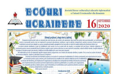 Ecouri ucrainene Nr. 16, septembrie 2020