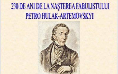 230 de ani de la nașterea poetului Petro Hulak-Artemovskyi