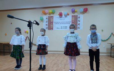 Filiala UUR-Timiș a organizat un concursul de cântece ucrainene