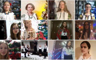 Implementarea proiectului 'De Crăciun dăruim un colind ucrainean'