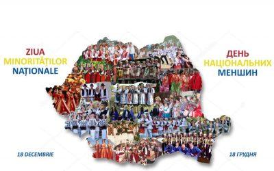 Mesajul Uniunii Ucrainenilor din România cu ocazia Zilei Minorităților Naționale