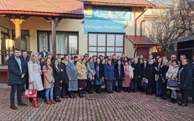 Întâlnire la sediul filialei UUR-Maramureș – 15 februarie 2020, Sighetu Marmației