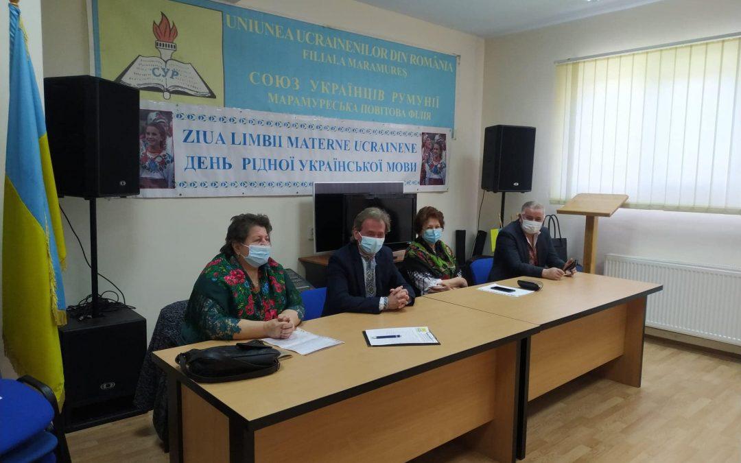 Întâlnire cu cadrele didactice care predau limba ucraineană în școlile din Maramureș