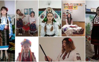 """Participare la proiectul internațional """"Lesea Ukrainka: extinderea orizonturilor"""""""