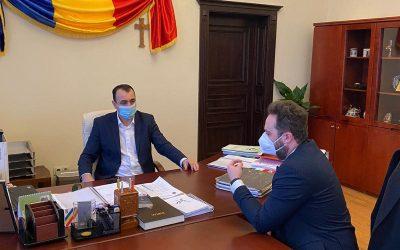 Discuții constructive cu primarul mun. Sighetu Marmației Vasile Moldovan