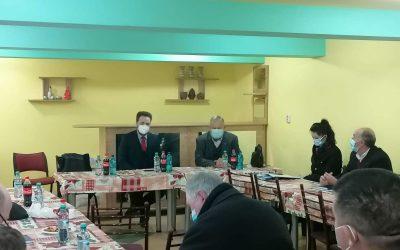 Întâlnire de lucru cu aleșii locali ai UUR, membri ai filialelor Satu Mare și Timiș