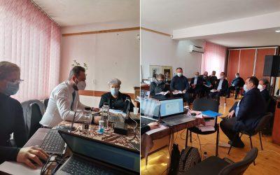 Ședința Consiliului (Rada) Uniunii Ucrainenilor din România la Tulcea