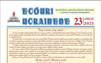 Ecouri ucrainene Nr. 23, aprilie 2021