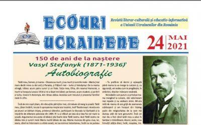 Ecouri ucrainene Nr. 24, mai 2021