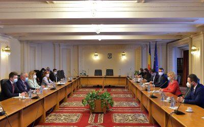 Зустріч з віце-прем'єр-міністром  України Ольгою Стефанішиною