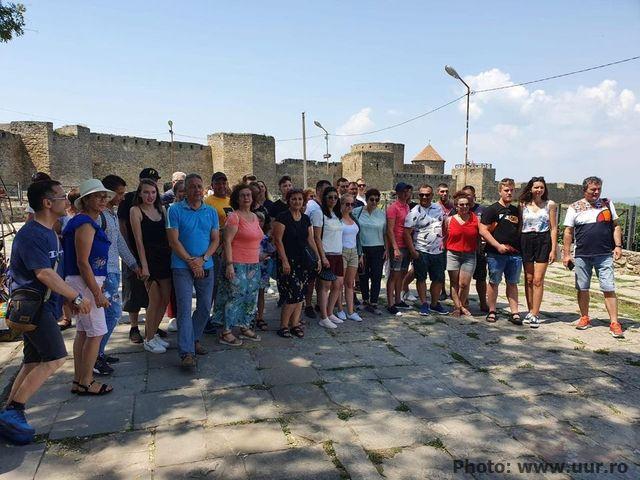 Ucrainenii din România, în vizită în Ucraina printr-un proiect al ADDDD Tulcea