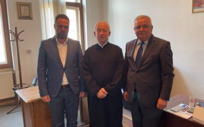 Зустріч з новим вікарієм УПР в Румунії Миколою Лауруком