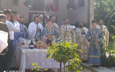 Zi de sărbătoare în parohia Gropeni din comuna Bălcăuți, județul Suceava