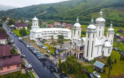 """Sfințirea bisericii Mănăstirii """"Sfântul Ioan Botezătorul"""" din Ruscova"""