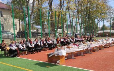 Festin culinar dedicat bucătariei ucrainene, în localitatea Moldova Sulița